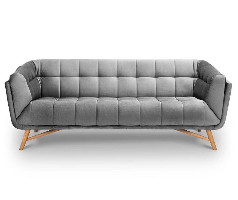 Canapea 3 locuri Etoile Light Grey