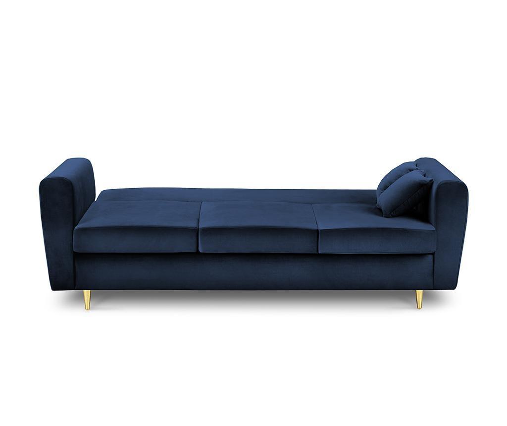 Kauč trosjed na razvlačenje Remy Royal Blue
