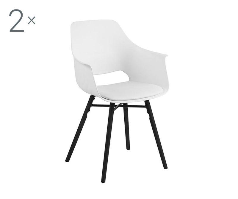 Sada 2 židlí Ramona White