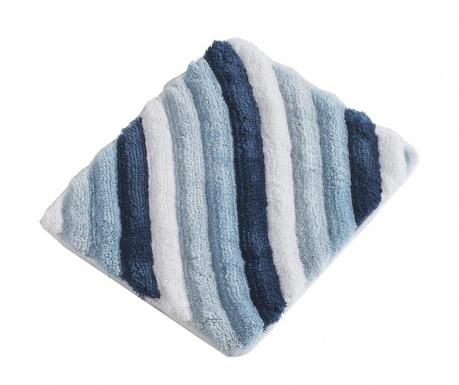 Χαλάκι μπάνιου Wavy Blue 50x60 cm