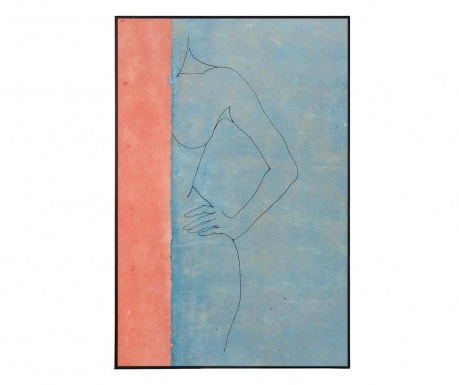 Obraz Curved Lines 80x120 cm