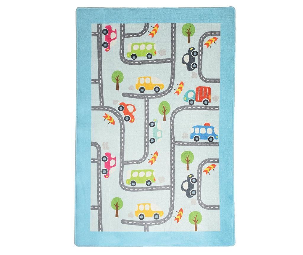 Covor de joaca Baby Cars 140x190 cm