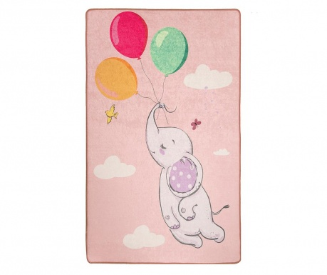 Preproga Balloons Pink 140x190 cm