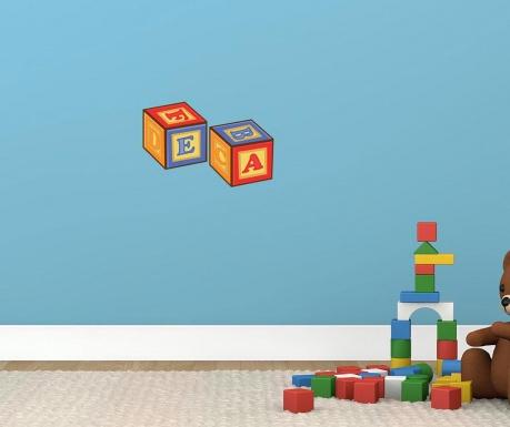 Samolepka Cubes