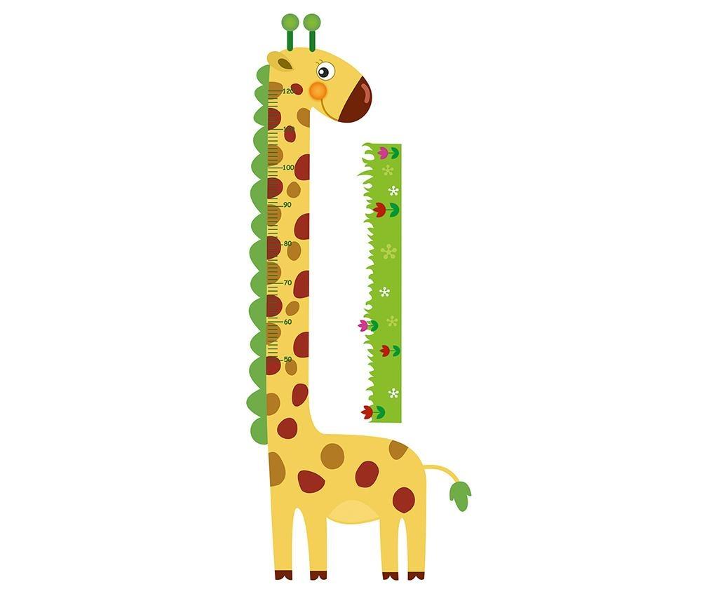 Naljepnica za mjerenje dječje visine Giraffe
