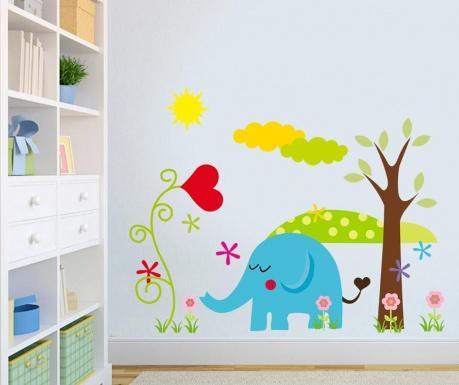 Samolepka Happy Elephant
