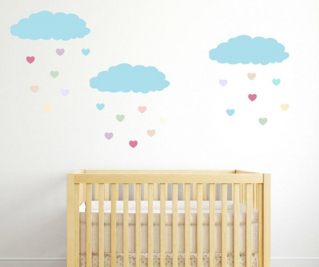 Samolepka Love Cloud