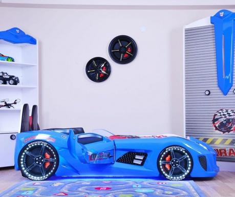 Detský posteľný rám Dream Blue