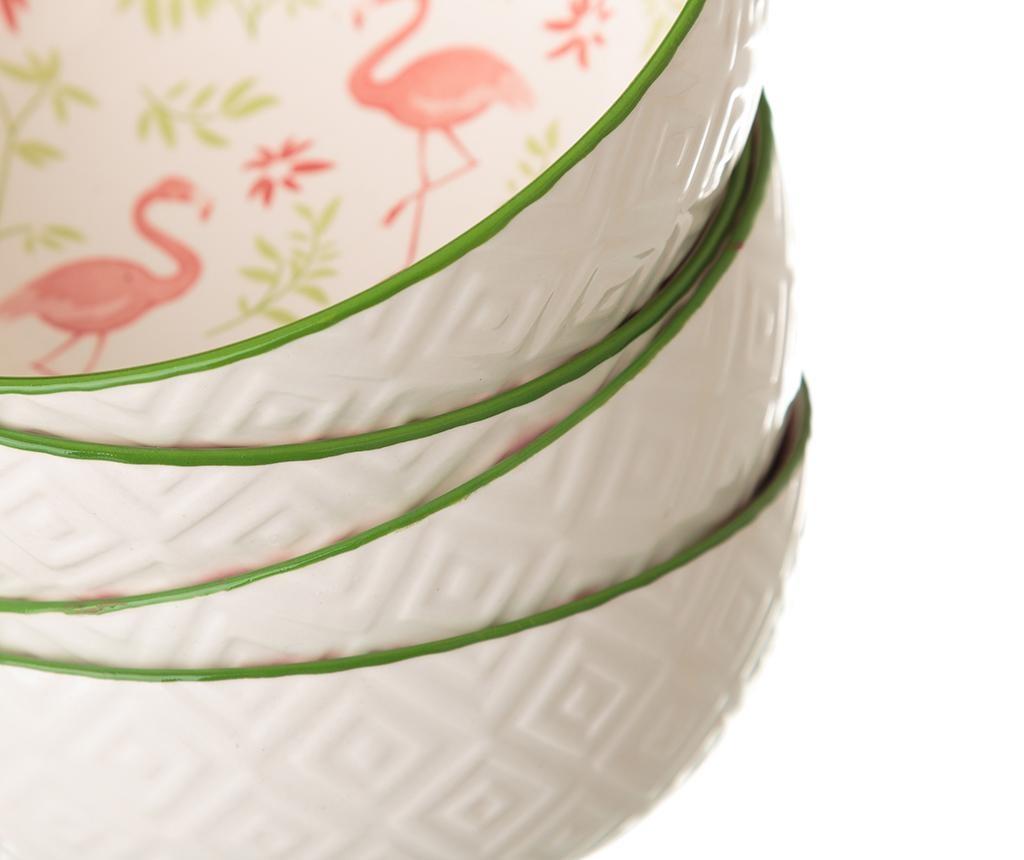 Sada 2 mís Flamingo 600 ml