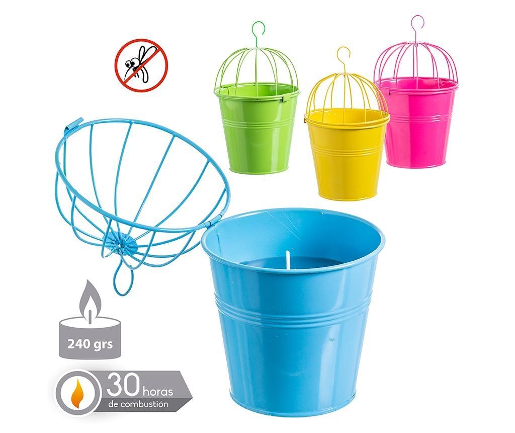 Citronella Bucket Large 4 db Felfüggeszthető gyertya