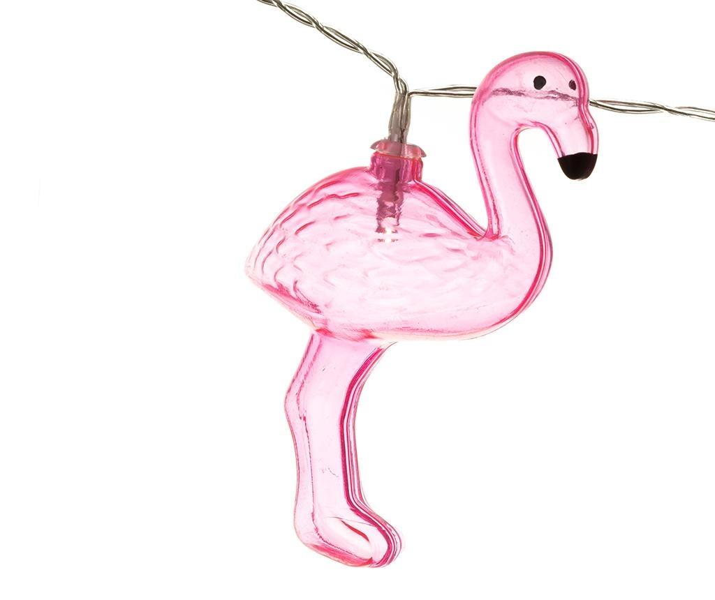 Svetelná girlanda Flamingo
