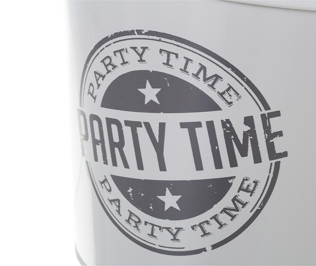 Chladič fliaš Party Time White Grey 3.6 L