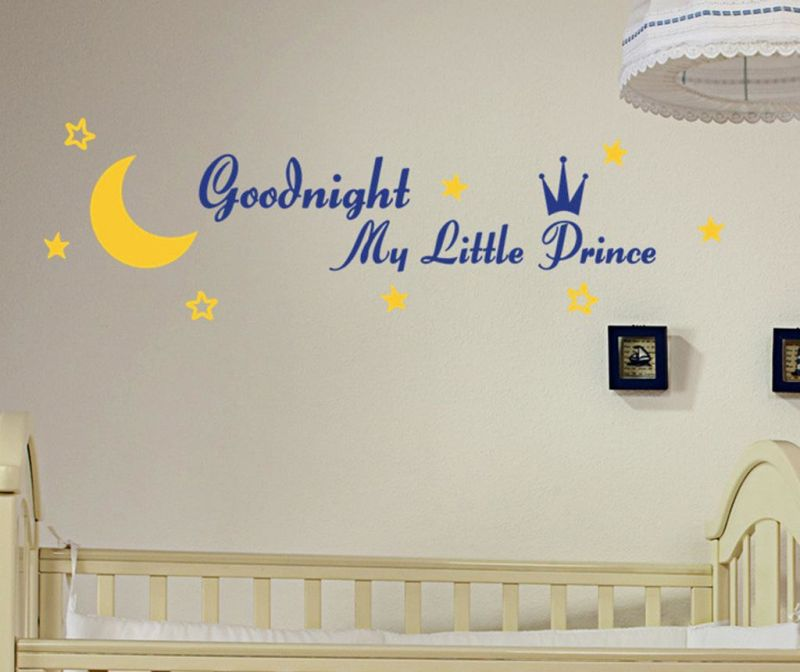 Naljepnica Goodnight Prince