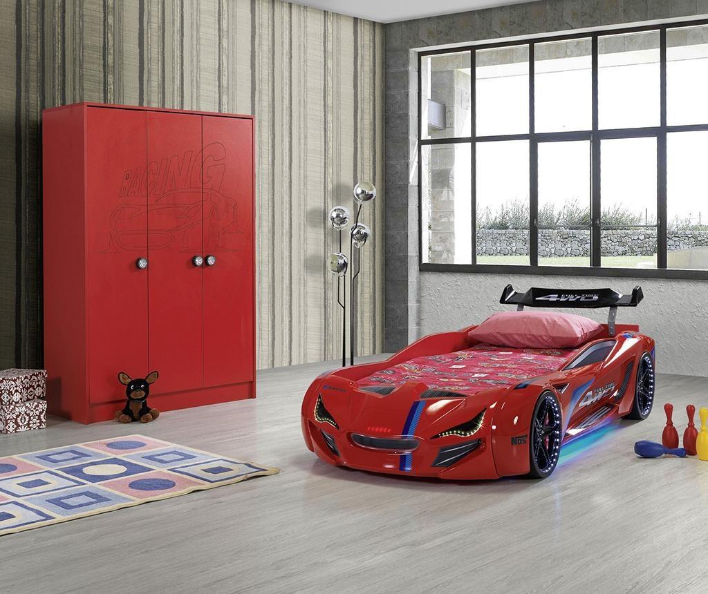 Cadru de pat pentru copii Wonder Red