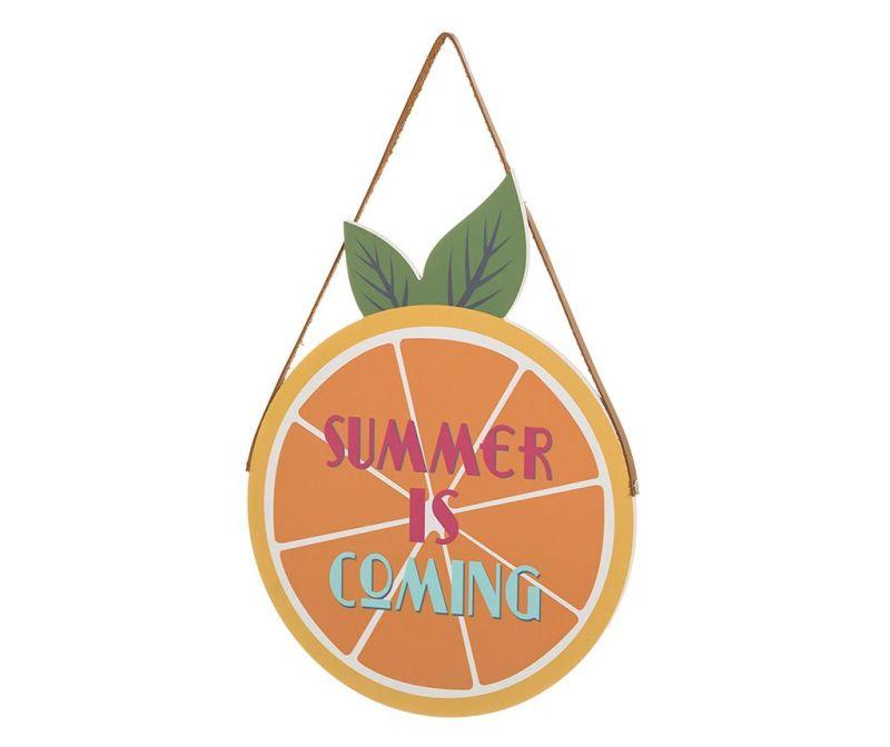 Závesná dekorácia Summer Is Coming Orange