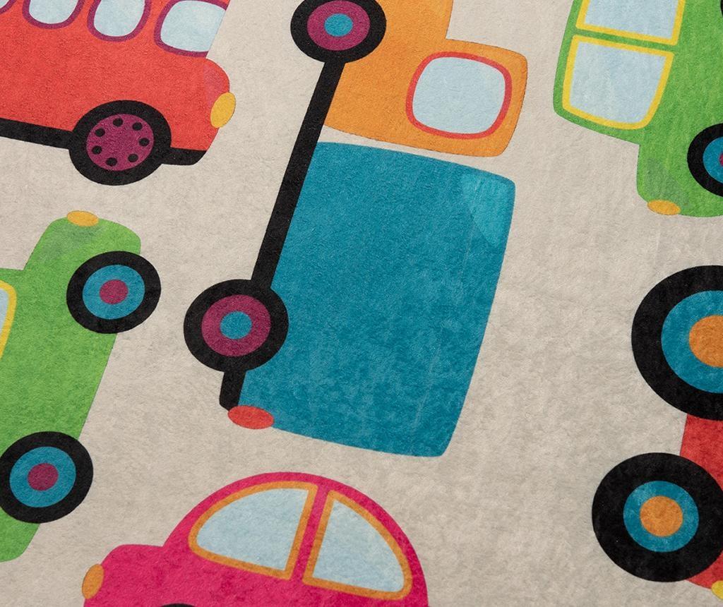 Covor Cars Ecru 140x190 cm