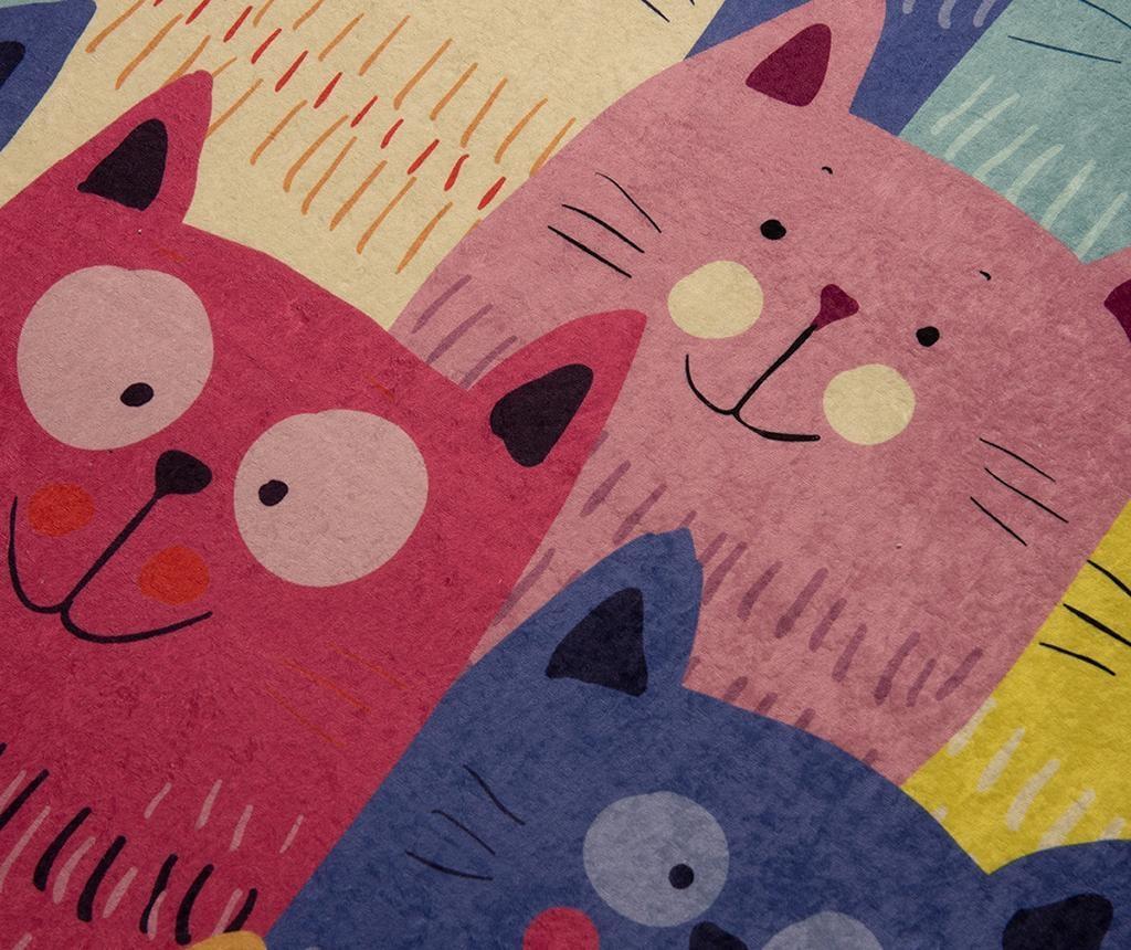 Covor Cats Multi 100x160 cm
