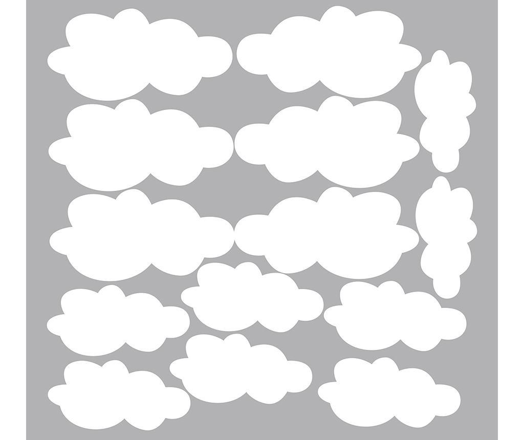 Set 14 nalepk Cloud