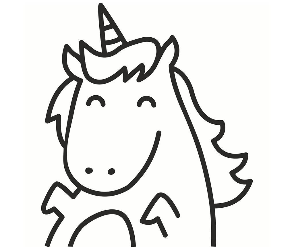 Naljepnica Happy Unicorn