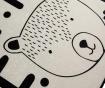 Preproga Little Bear White 100x160 cm