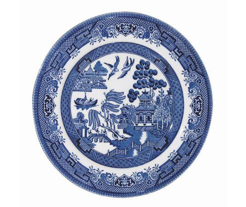 Blue Willow Desszertes tányér