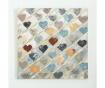 Slika Heart Blue 80x80 cm