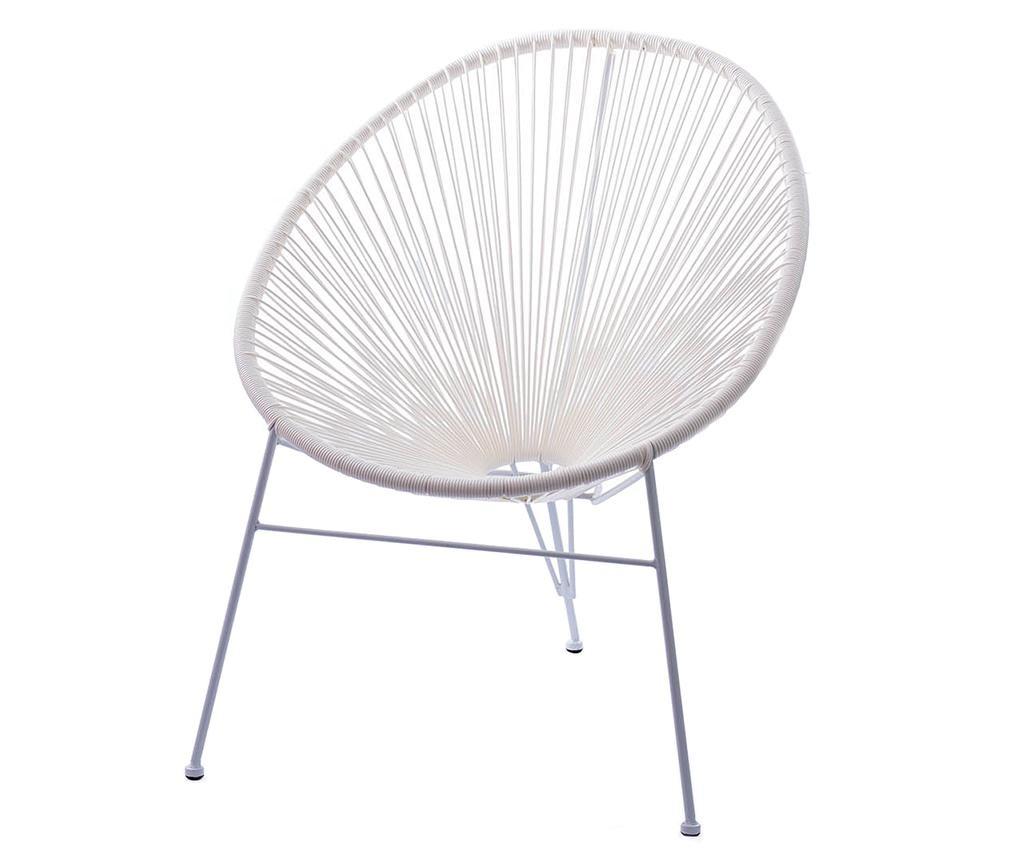 Krzesło Rocky White