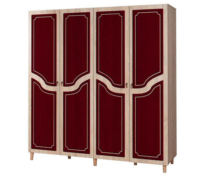 Garderobna omara Imaj Pattern Red