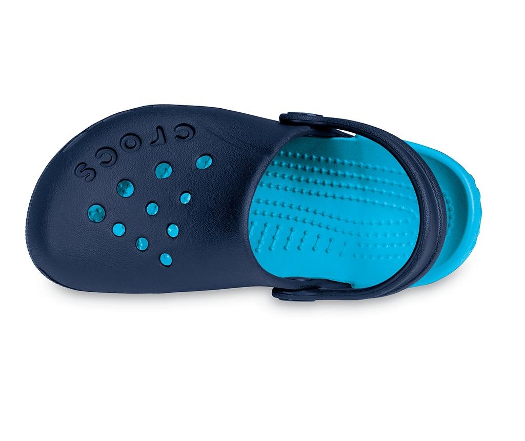 Saboti copii Crocs Electro Blue 34-35