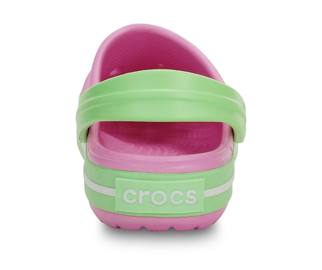 Otroške cokle Crocs Green Glow 32-33