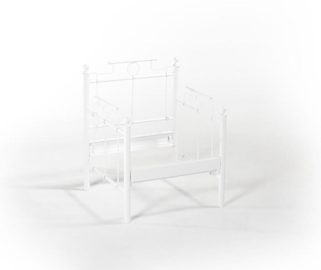 Set canapea 3 locuri si 2 fotolii pentru exterior Hatkus White Dark Blue