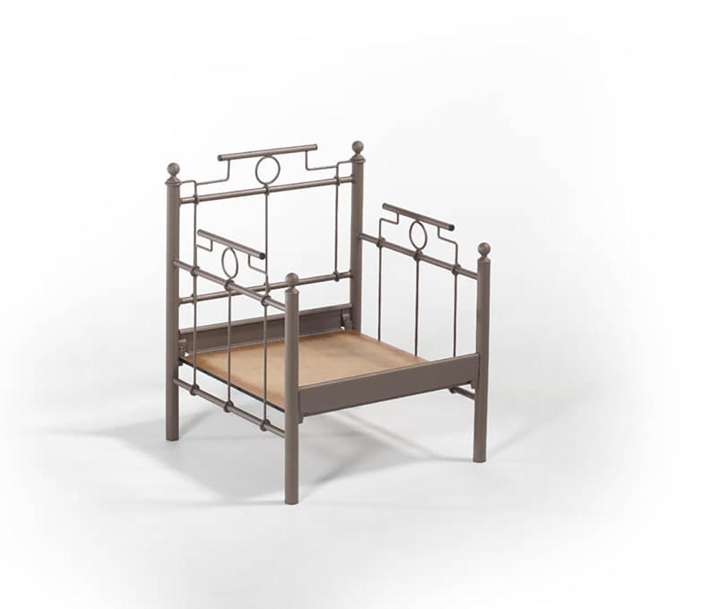 Set canapea 3 locuri si 2 fotolii pentru exterior Hatkus  Brown
