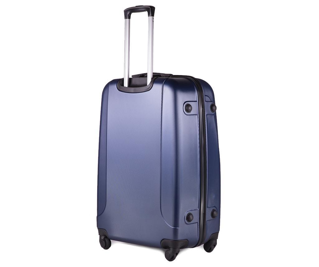 Putna torba s kotačićima Wave Dark Blue 36 L
