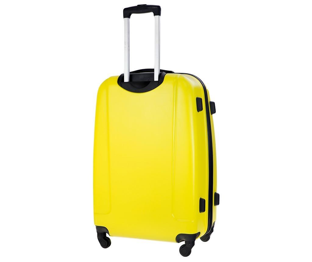 Putna torba s kotačićima Steady Yellow 31 L