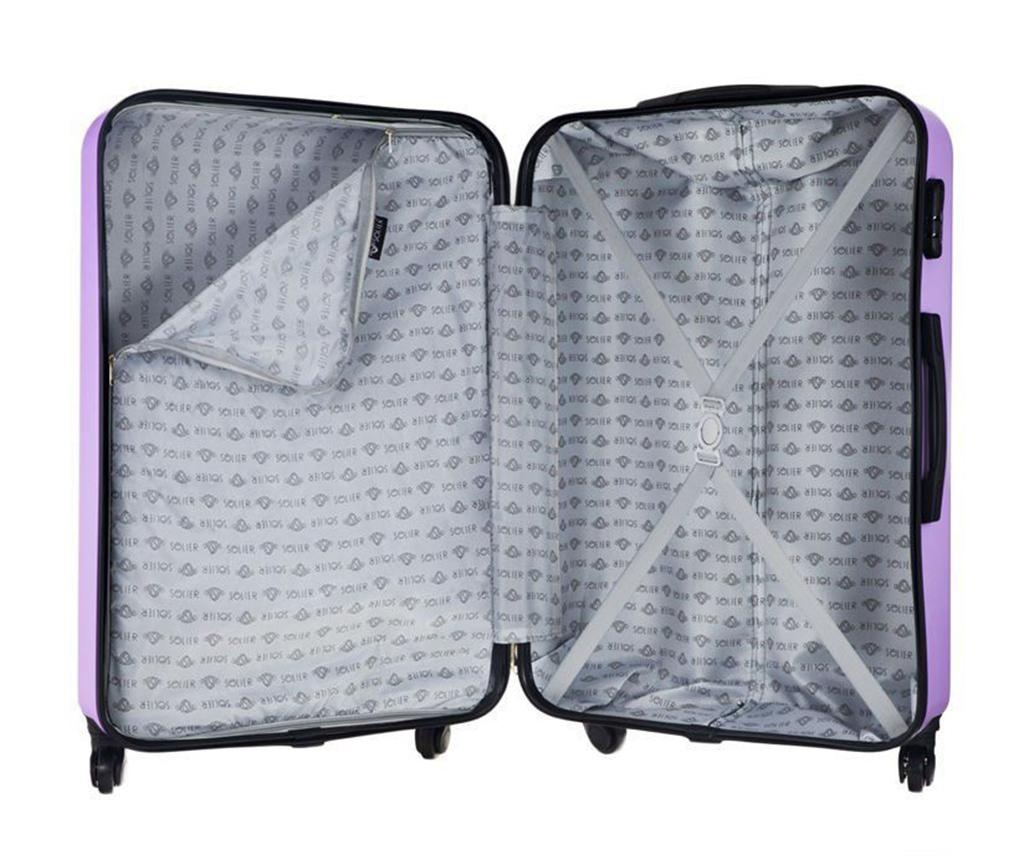 Putna torba s kotačićima Arrow Purple 48 L