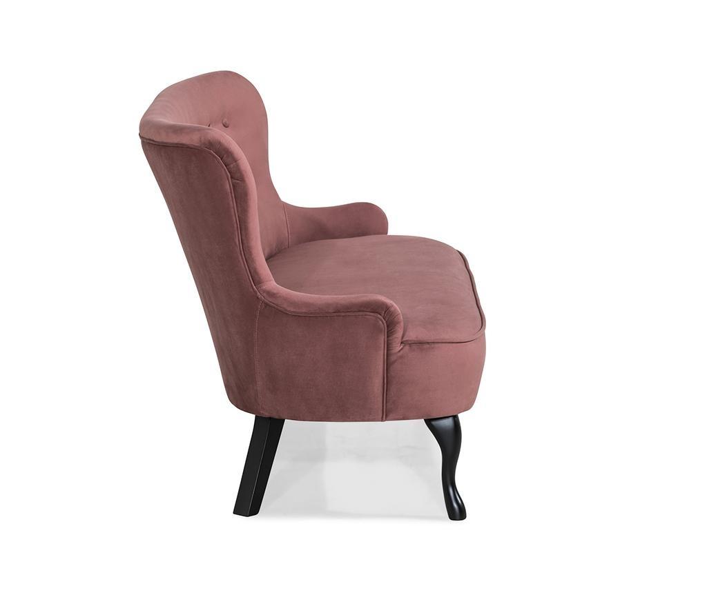 Sedačka diYana Soft Rust Pink 3H