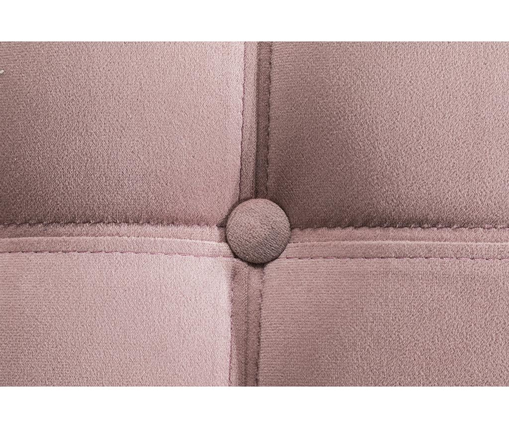 Табуретка за крака diYana Light Pink Maxi