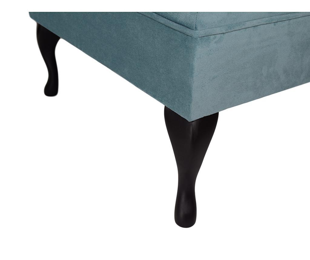 Tabure za noge diYana Square Turquoise