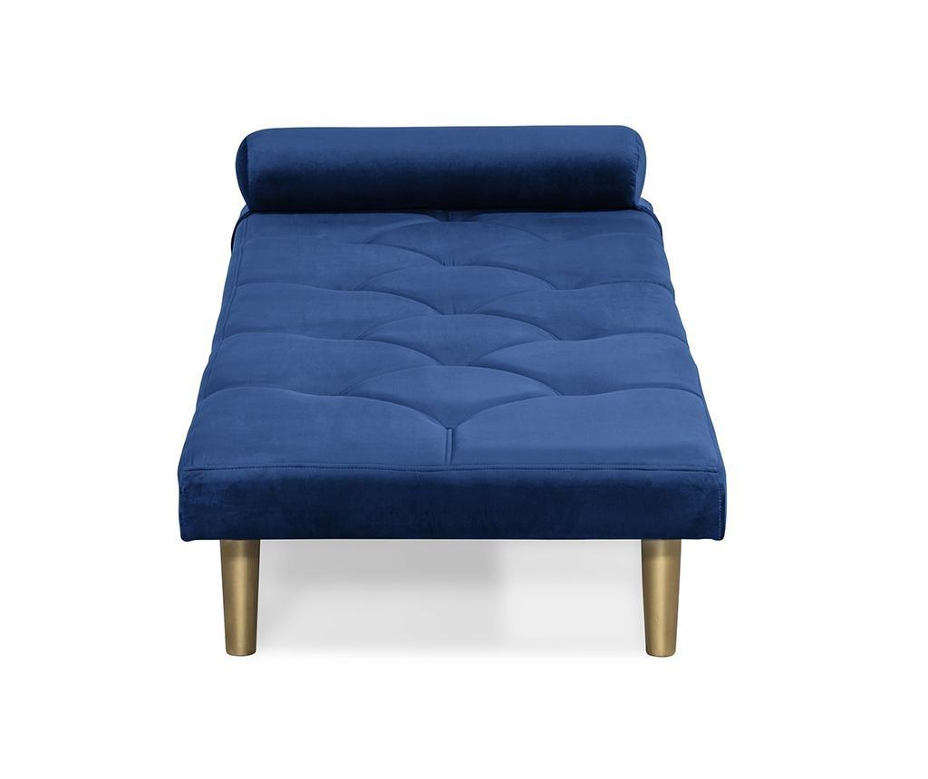 Ležaljka za dnevni boravak diYana Blue And Golden Legs