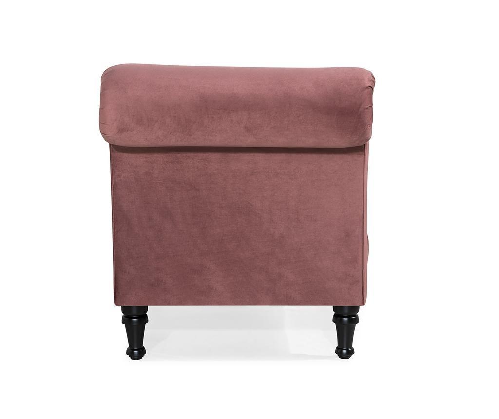 Desna ležaljka za dnevni boravak diYana Rust Pink
