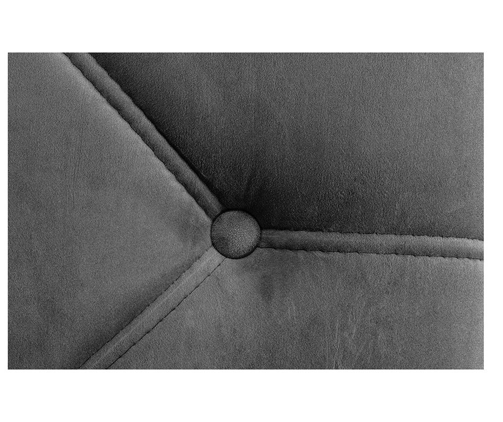 Desna ležaljka za dnevni boravak diYana Dark Grey
