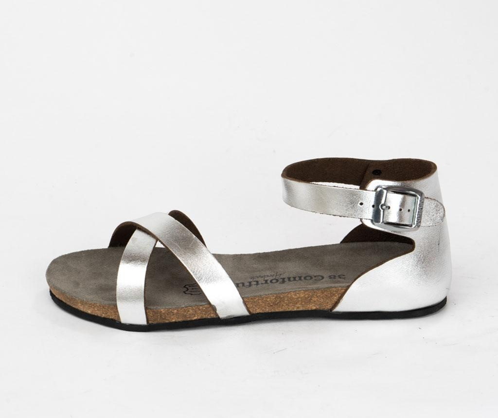 Sandale dama Milano Silver 39