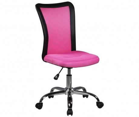Otroški pisarniški stol Lukas Pink