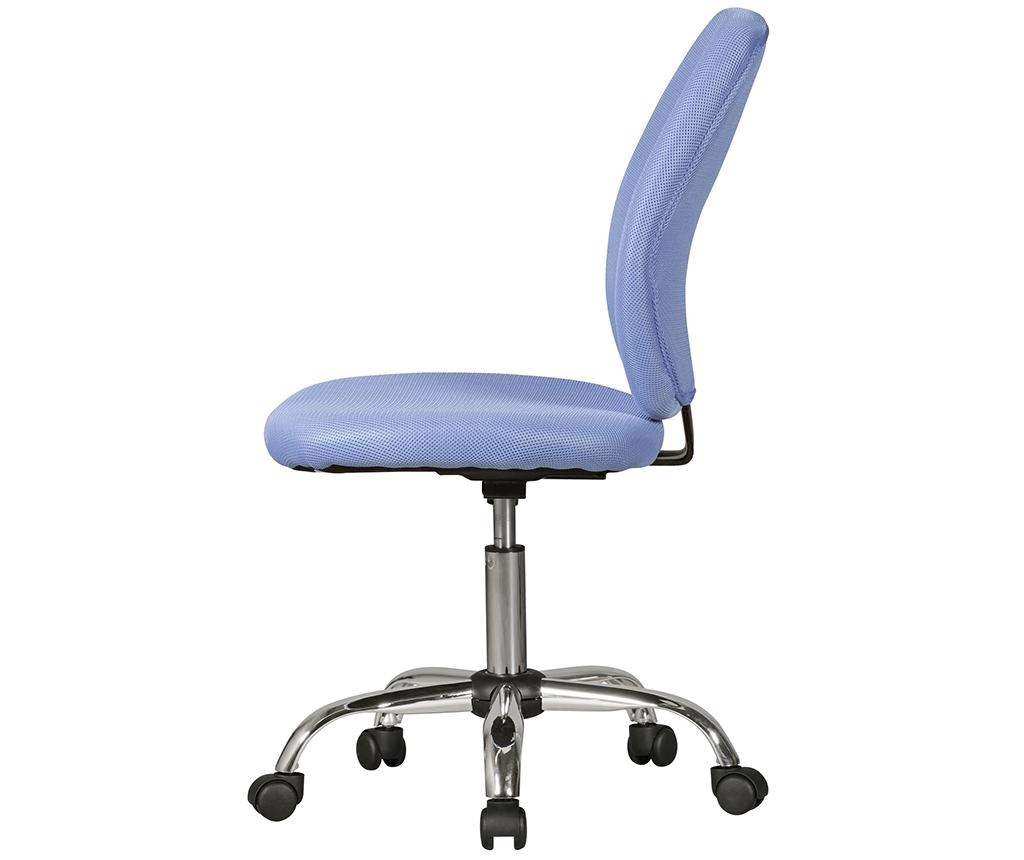Otroški pisarniški stol Emma Blue