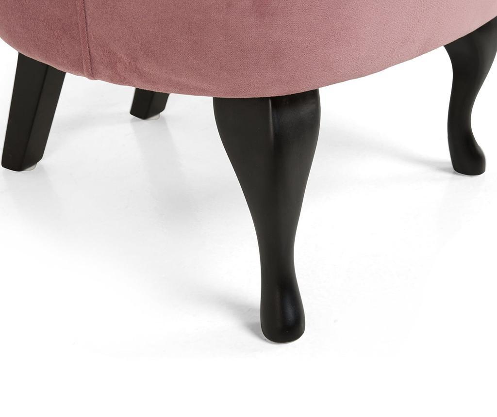 Fotoliu Emilia Long Dark Pink