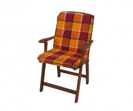 Poduszka na siedzisko i oparcie Cardiff Orange