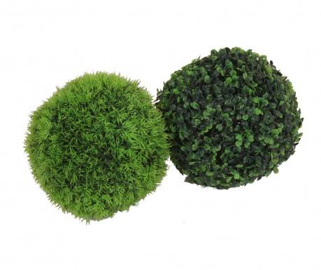 Zestaw 2 sztucznych roślin Grass