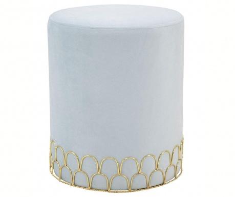 Σκαμπό Ring Light Blue