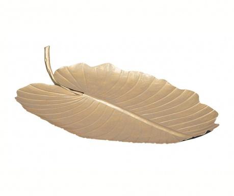 Διακοσμητική πιατέλα Leaf Wave