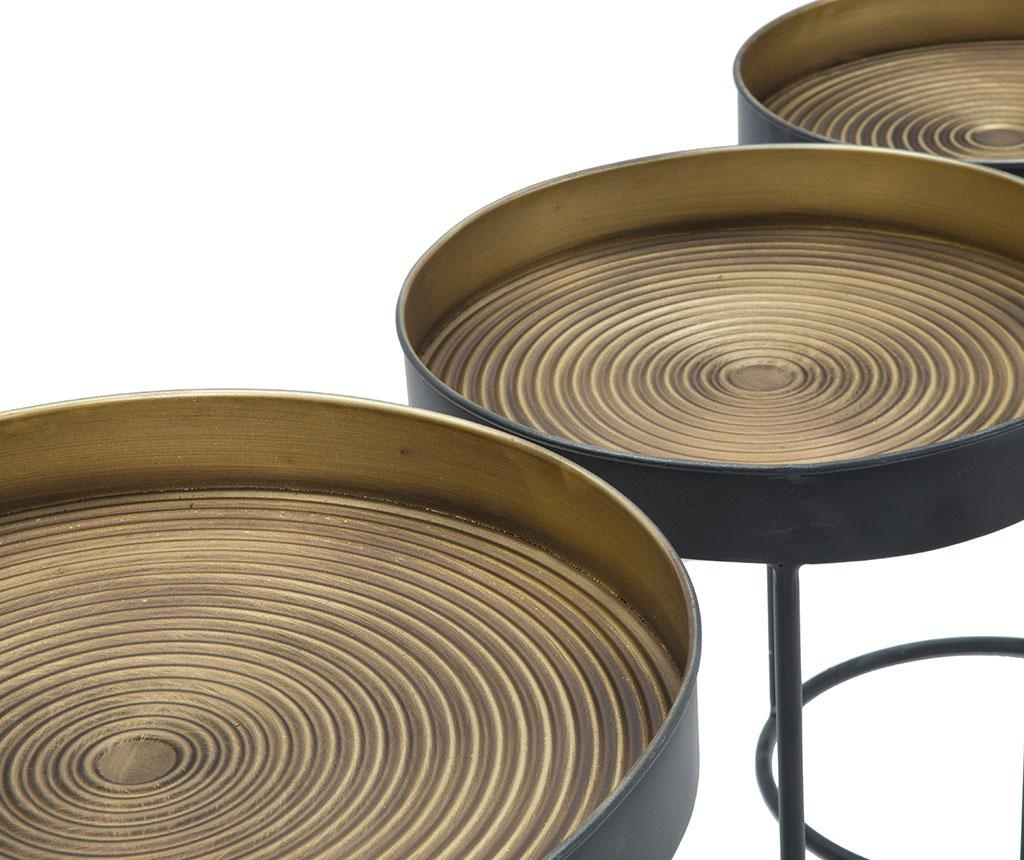 Set 3 stolića za kavu Opis Tall